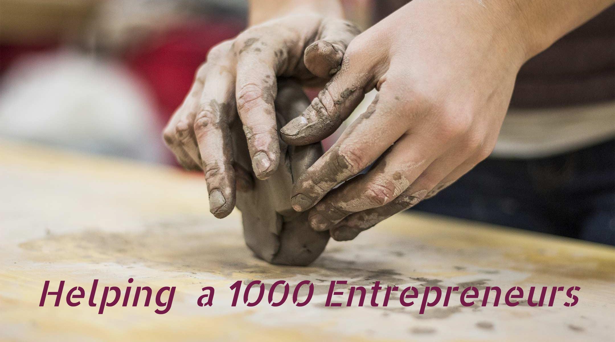 Helping a 1000 Entrepreneurs